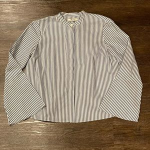 Madewell Striped Bell-Sleeve in Blue *size XS*